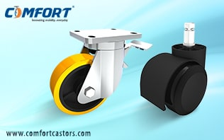 select-the-right-caster-wheels-for-industrial-and-commercial-purpose
