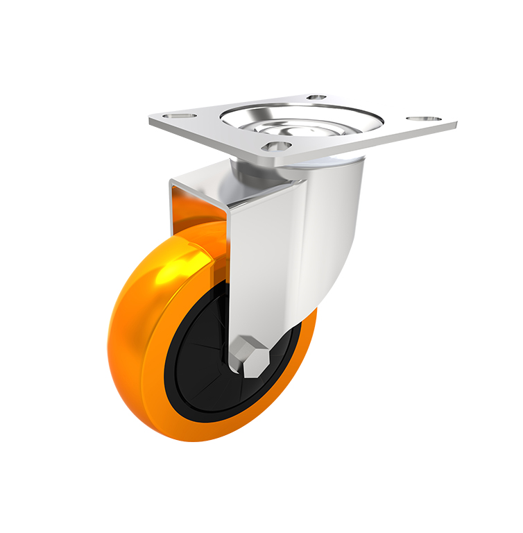 Comfort Castors Medium-Duty-PU-Castor-Swivel 0-100kg