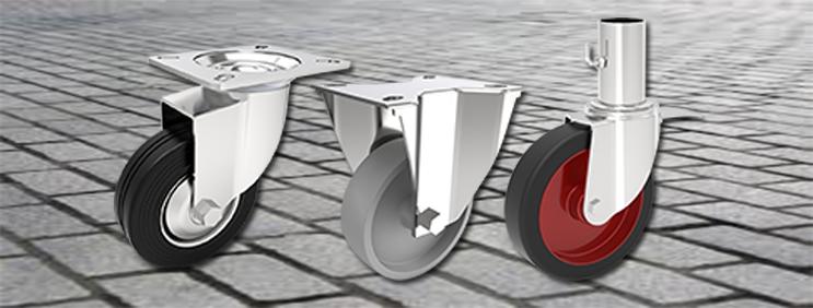 Comfort Castors top-4-big Top 4 castor wheels for outdoor tasks