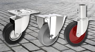 Top 4 castor wheels for outdoor tasks